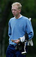 MOLENSCHOT - Sander van Duyn.  Voorjaarswedstrijd golf 2003 op GC Toxandria. . COPYRIGHT KOEN SUYK