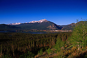 Lake Dillon & Town of Frisco, Colorado
