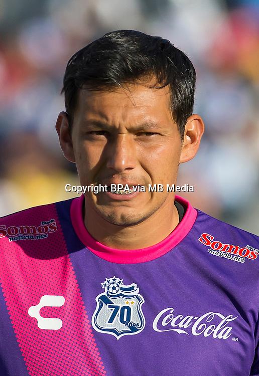 Mexico League - BBVA Bancomer MX 2014-2015 - <br /> Camoteros - Puebla F&uacute;tbol Club / Mexico - <br /> Rodolfo Cota