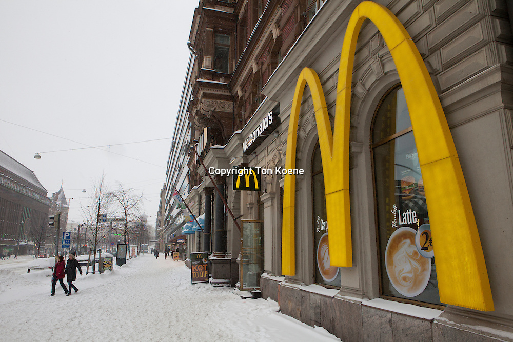 Mc donalds in Helsinki
