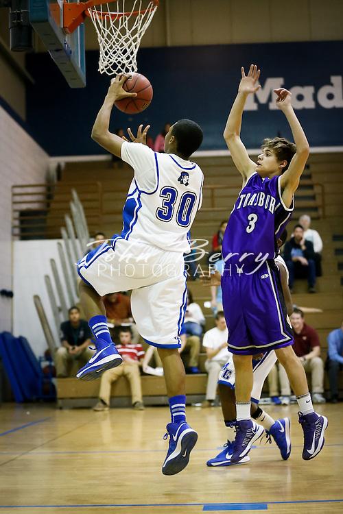 February/4/13:  MCHS JV Boy's Basketball vs Strasburg.  Madison wins 56-37.