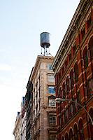 New York, New York City. Building scape in Soho.