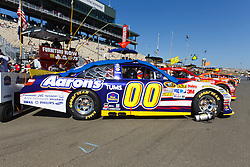 June 26, 2011; Sonoma, CA, USA;  The car of NASCAR Sprint Cup Series driver David Reutimann (not pictured) on pit road before the Toyota/Save Mart 350 at Infineon Raceway.