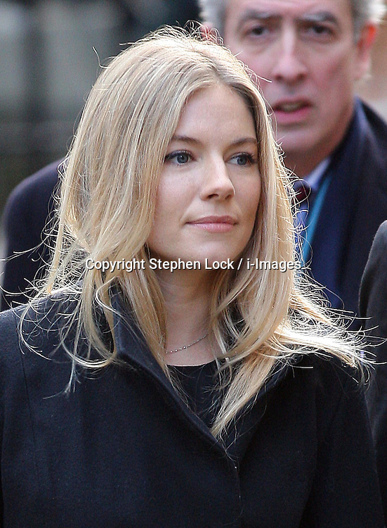 Sienna Miller arriving at The Leveson Inquiry in London, Thursday, 24th November 201 Photo by: Stephen Lock / i-Images<br /> File photo - Jude Law NOTW Hacking.<br /> Jude Law is told relative sold story of girlfriend Sienna Miller's affair with Daniel Craig. Picture filed Tuesday, 28th January 2014.