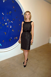 Actress ROSAMUND PIKE at the Swarovski 'Runwy Rocks' held at the Phillips de Pury Gallery, Howick Place, London on 10th June 2008.<br />