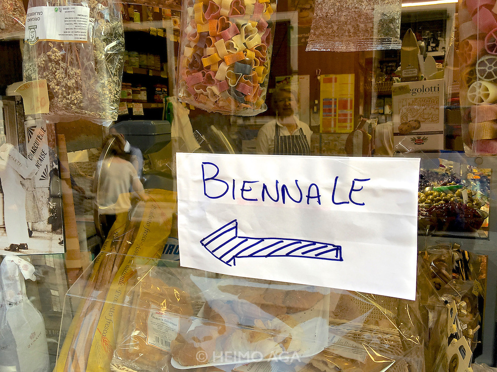 """Venice, Italy - 15th Architecture Biennale 2016, """"Reporting from the Front""""."""