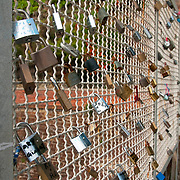 Via dell'Amore is Cinque Terre's most famous walk and it is the easiest section of the Sentiero Azzurro (Blue Trail) which takes walkers from Riomaggiore to Monterosso. Lovers put locks on the fence to seal their love for one another.