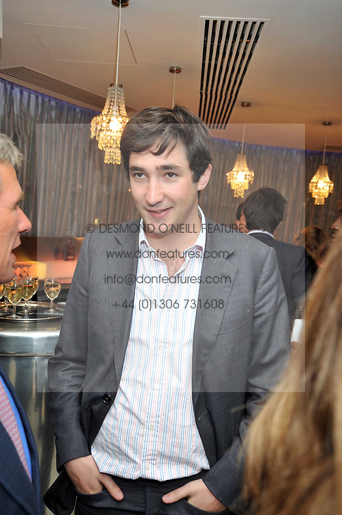 WILL VESTEY at the launch of the 2009 Derby Festival in the presence of HRH Princess Haya of Jordan in aid of the charity Starlight held at the Kensington Roof Gardens, 99 Kensington High Street, London W8 on 12th May 2009.