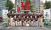 160601_Team Photos at Love Statue and Team Dinner