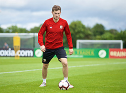 WREXHAM, WALES - Wednesday, June 5, 2019: Wales' Ben Davies during a training session at Colliers Park ahead of the UEFA Euro 2020 Qualifying Group E match between Croatia and Wales. (Pic by David Rawcliffe/Propaganda)