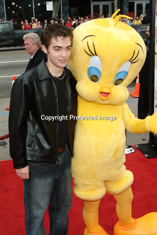 Drew Tyler Bell<br />&ldquo;Looney Tunes:  Back In Action&rdquo; Film Premiere<br />Grauman's Chinese Theater<br />Hollywood, CA, USA<br />Sunday, November, 09, 2003 <br />Photo By Celebrityvibe.com/Photovibe.com