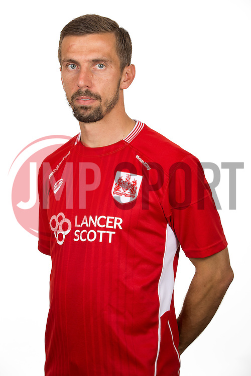 of Bristol City - Rogan Thomson/JMP - 01/08/2016 - FOOTBALL - Failand Training Ground - Bristol, England - Bristol City Headshots 2016/17.