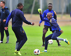 Cape Town--180329 Cape Town City defender Zukile Kewuti at training preparing for heir Nedbank Cup game against Sundowns on sunday  .Photographer;Phando Jikelo/African News Agency/ANA