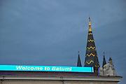 Welcome to Batumi sign Batumi, Georgia