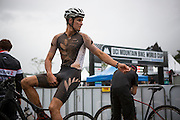 New Zealand mountain bike cross-country star Sam Gaze during the 2014 Cairns UCI MTB World Cup event held in Tropical North Queensland, Queensland, Australia.