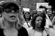 The One Baltimore March at City Hall in Baltimore, MD on Sunday, May 3, 2015.
