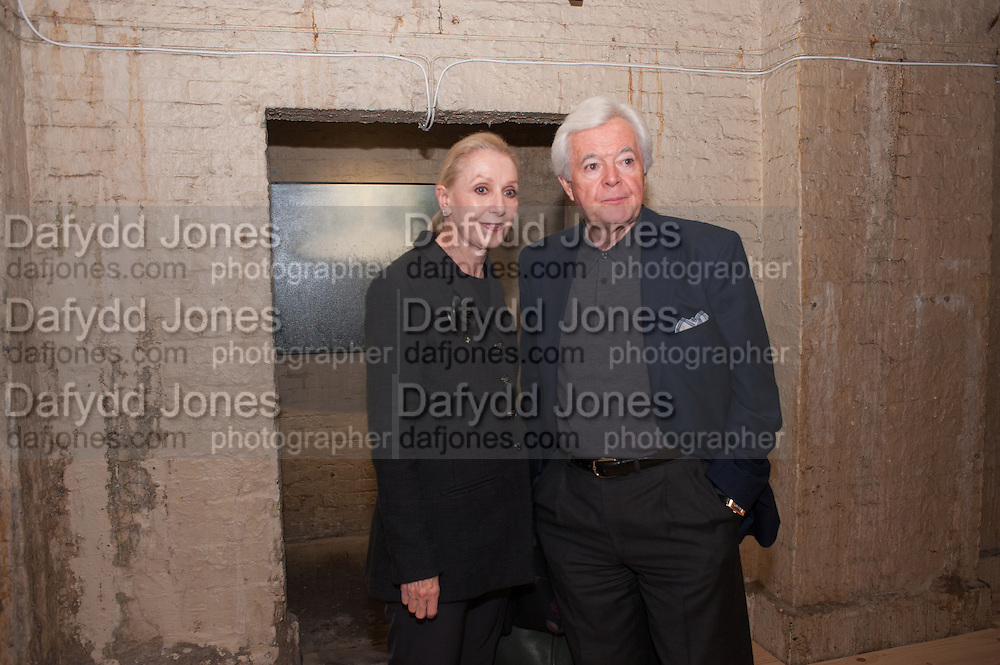 KATE DEVLIN; BOB DEVLIN, Night paintings by Paul Benney, Crypt, Somerset House. London. 4 October 2012.