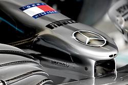 March 30, 2019 - Sakhir, Bahrain - Motorsports: FIA Formula One World Championship 2019, Grand Prix of Bahrain, ..Technical detail, Mercedes AMG Petronas Motorsport, front wing  (Credit Image: © Hoch Zwei via ZUMA Wire)
