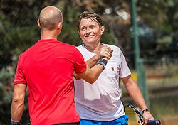 Andrej Kavsek during Day 8 at ATP Challenger Zavarovalnica Sava Slovenia Open 2018, on August 10, 2018 in Sports centre, Portoroz/Portorose, Slovenia. Photo by Vid Ponikvar / Sportida