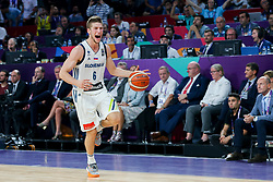 Aleksej Nikolic of Slovenia during the Final basketball match between National Teams  Slovenia and Serbia at Day 18 of the FIBA EuroBasket 2017 at Sinan Erdem Dome in Istanbul, Turkey on September 17, 2017. Photo by Vid Ponikvar / Sportida