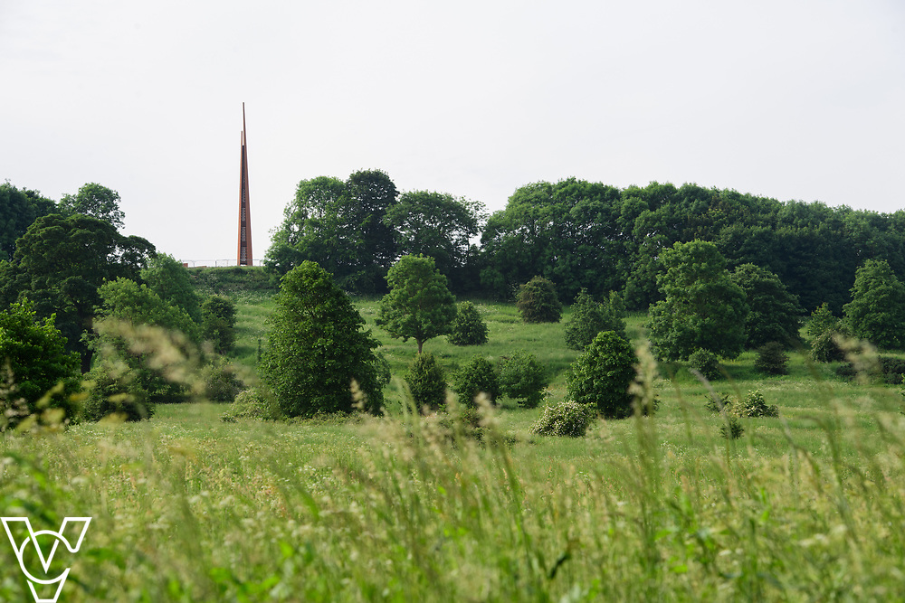 North Kesteven District Council (NKDC) - stock photography: Bomber Command Memorial seen over the South Common<br /> <br /> Picture: Chris Vaughan Photography<br /> Date: June 2, 2017