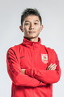 **EXCLUSIVE**Portrait of Chinese soccer player Zhang Li of Changchun Yatai F.C. for the 2018 Chinese Football Association Super League, in Wuhan city, central China's Hubei province, 22 February 2018.