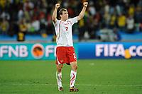 FOOTBALL - FIFA WORLD CUP 2010 - GROUP STAGE - GROUP H - SPAIN v SWITZERLAND - 16/06/2010 - PHOTO GUY JEFFROY / DPPI - JOY STEPHAN LICHSTEINER (SWI)