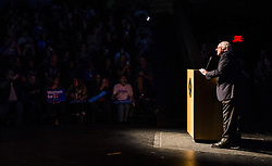 November 5, 2016 - Colorado Springs, CO, USA - Vermont Sen. Bernie Sanders speaks during a Get Out the Vote rally at Colorado College, in which he campaigned for Democratic presidential candidate Hillary Clinton, on Saturday, Nov. 5, 2016, in Colorado Springs, Colo. (Credit Image: © Stacie Scott/TNS via ZUMA Wire)