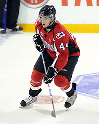 Taylor Hall of the Windsor Spitfires competed in the 2008 CHL Canada-Russia Challenge and will also play in the 2009 SUBWAY Super Series. Photo by Aaron Bell/OHL Images.