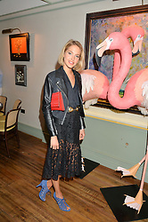 TESS WARD at a dinner hosted by Kate Spade NY to celebrate Chelsea in Bloom held at Daphne's, 112 Draycott Avenue, London on 20th May 2015.