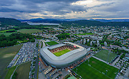 An arial view of Worthersee Stadion, Klagenfurt, Austria.<br /> Picture by EXPA Pictures/Focus Images Ltd 07814482222<br /> 31/05/2016<br /> ***UK &amp; IRELAND ONLY***<br /> EXPA-STE-160531-5340.jpg