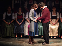 "23.11.2016, Festspielhaus, Salzburg, AUT, Salzburger Adventsingen 2016, Gib uns den Frieden, Fotoprobe, im Bild Simone Vierlinger als Maria und Bernhard Teufl als Josef // during a photo sample for the 2016 Salzburger Adventsingen 2016 ""Give us peace"" at the Festspielhaus in Salzburg, Austria on 2016/11/23. EXPA Pictures © 2016, PhotoCredit: EXPA/ Ernst Wukits"