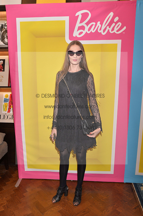 Inesa dela Roche at The Art of @barbiestyle Book Launch held at Maison Assouline, Piccadilly, London on 15 June 2017.Photo by Dominic O'Neill/SilverHub 0203 174 1069/ 07711972644 - Editors@silverhubmedia.com