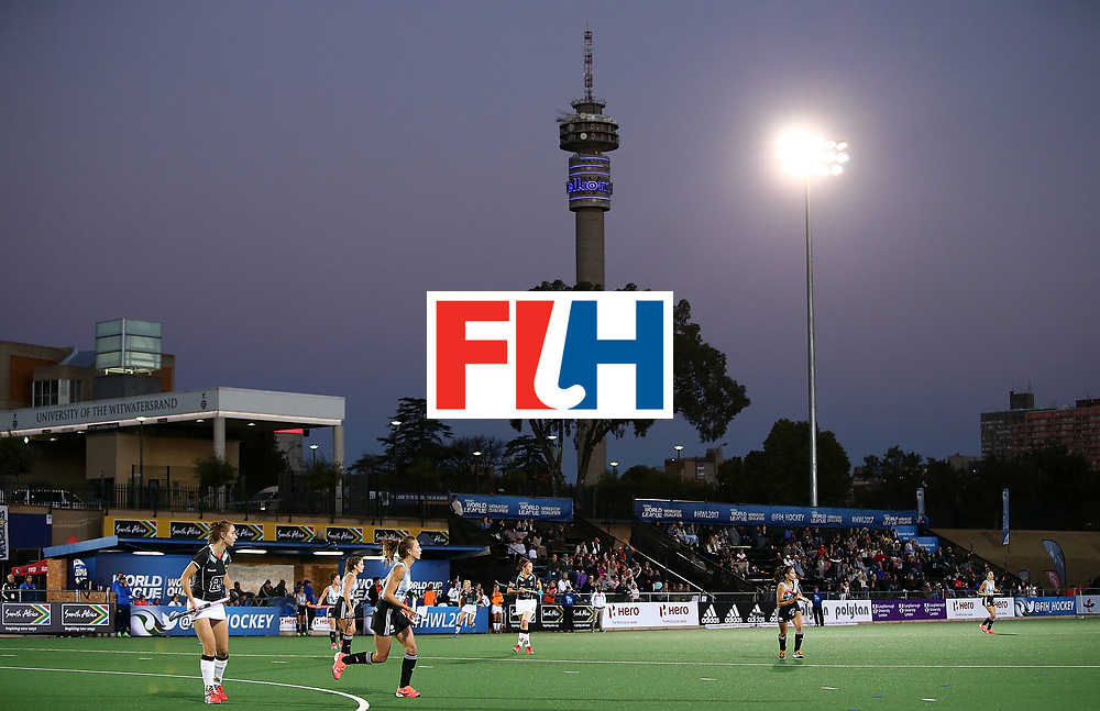 JOHANNESBURG, SOUTH AFRICA - JULY 20:  A general view during day 7 of the FIH Hockey World League Women's Semi Finals semi final match between Germany and Argentina at Wits University on July 20, 2017 in Johannesburg, South Africa.  (Photo by Jan Kruger/Getty Images for FIH)