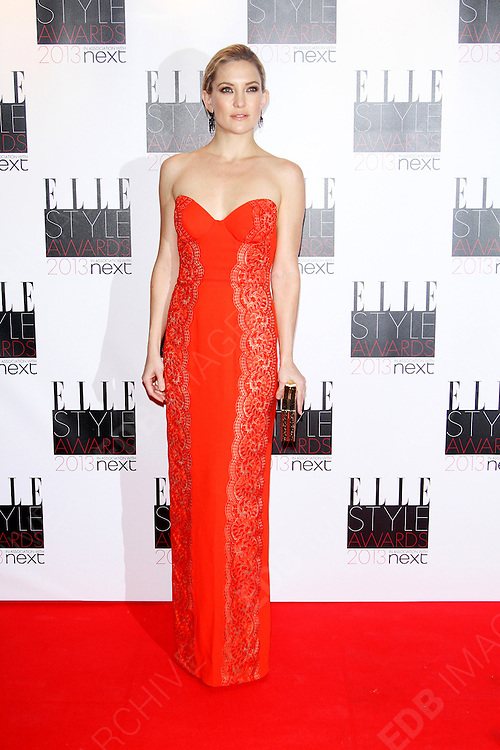 11.FEBRUARY.2013. LONDON<br /> <br /> CELEBRITIES ARRIVE AT THE SAVOY HOTEL FOR THE 2013 ELLE STYLE AWARDS, LONDON<br /> <br /> BYLINE: EDBIMAGEARCHIVE.CO.UK<br /> <br /> *THIS IMAGE IS STRICTLY FOR UK NEWSPAPERS AND MAGAZINES ONLY*<br /> *FOR WORLD WIDE SALES AND WEB USE PLEASE CONTACT EDBIMAGEARCHIVE - 0208 954 5968*