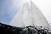 Fortune sailing in the Marblehead Corinthian Classic Yacht Regatta. Photo by Cory Silken / Panerai, © Cory Silken 2016.