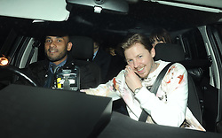 Professor Green at his and Millie Mackintosh's at engagement party held at the Groucho Club in Soho, London, UK. 12/04/2013<br />