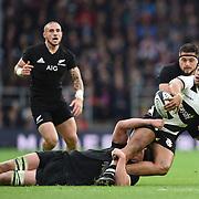 Londra 04/11/2017 Twickenham<br /> Barbarians vs Nuova Zelanda<br /> Julian Savea placcato da Luke Romano
