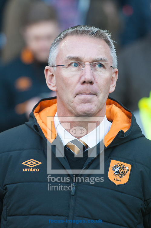 Hull City manager Nigel Adkins during the Sky Bet Championship match at the KCOM Stadium, Hull<br /> Picture by Matt Wilkinson/Focus Images Ltd 07814 960751<br /> 26/12/2017