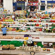 Russian Bazaar in Ashgabat, Turkmenistan