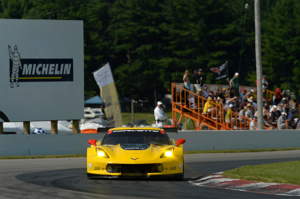 10-12 July 2015, Bowmanville, Ontario Canada<br /> 4, Chevrolet, Corvette C7.R, GTLM, Oliver Gavin, Tommy Milner<br /> &copy;2015 Scott R LePage <br /> LAT Photo USA