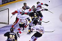 Action  - 06.01.2015 - Hockey sur glace - Rouen / Briancon - 1/2Finale Coupe de France-<br /> Photo : Dave Winter / Icon Sport