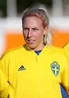 International Women's Friendly Matchs 2019 / <br /> Womens's Algarve Cup Tournament 2019 - <br /> Portugal v Sweden 2-1 ( Municipal Stadium - Albufeira,Portugal ) - <br /> Sandra Adolfsson of Sweden