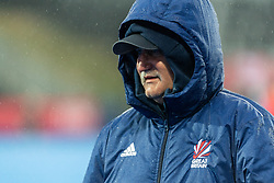 Coach Martin Hager of Great Britain Women before the 2019 Women's FIH Pro League match at Lee Valley Hockey Centre, Stratford<br /> Picture by Simon Parker/Focus Images Ltd <br /> 03/05/2019
