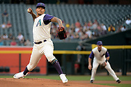 PHOENIX, AZ - APRIL 27:  Taijuan Walker #99 of the Arizona Diamondbacks delivers a pitch in the first inning against the San Diego Padres at Chase Field on April 27, 2017 in Phoenix, Arizona.  (Photo by Jennifer Stewart/Getty Images)