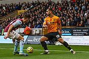 Jonny of Wolverhampton Wanderers during the Premier League match between Wolverhampton Wanderers and Aston Villa at Molineux, Wolverhampton, England on 10 November 2019.