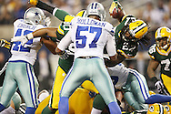 during the Green Bay Packers against the Dallas Cowboys  NFL game in Dallas, Texas Sunday, December, 15, 2013. (AP Photo/Tom Hauck)