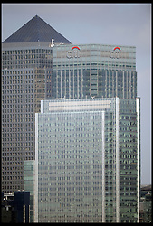 Skyscrapers of the City district of London, UK. on April 23, 2013. The Office for National Statistics said its preliminary estimates for gross domestic product (GDP), showed the economy grew by 0.3% in the first three months of the year. The figure means the economy avoided two consecutive quarters of contraction - the definition of a recession, April 25, 2013. Photo by: Andrew Parsons / i-Images