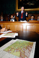 LONDON 9 Nov. 2005...Rt Hon Hilary Benn MP, Secretary of State for International Development addresses the floor.....The Justice Foundation Kashmir Centre London together with the All-Party Parliamentary Group (APPG) on Kashmir organised a meeting in the House of Commons entitled ?Kashmir After the Earthquake ? Rebuilding Together.
