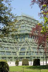 20.04.2011, Wien, AUT, Feature, im Bild das Palmenhaus im Schlosspark von Schloss Schönbrunn, EXPA Pictures © 2011, PhotoCredit: EXPA/ Erwin Scheriau